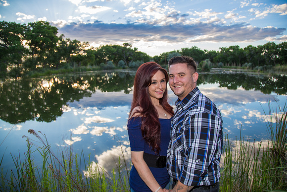 Albuquerque, Rio Grande Bosque, Engagement Photo Session