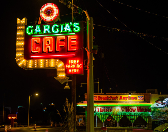 Garcias Restaurant Central, Albuquerque, New Mexico