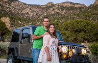 Engagement Session, Foothills of the Sandia Mountains