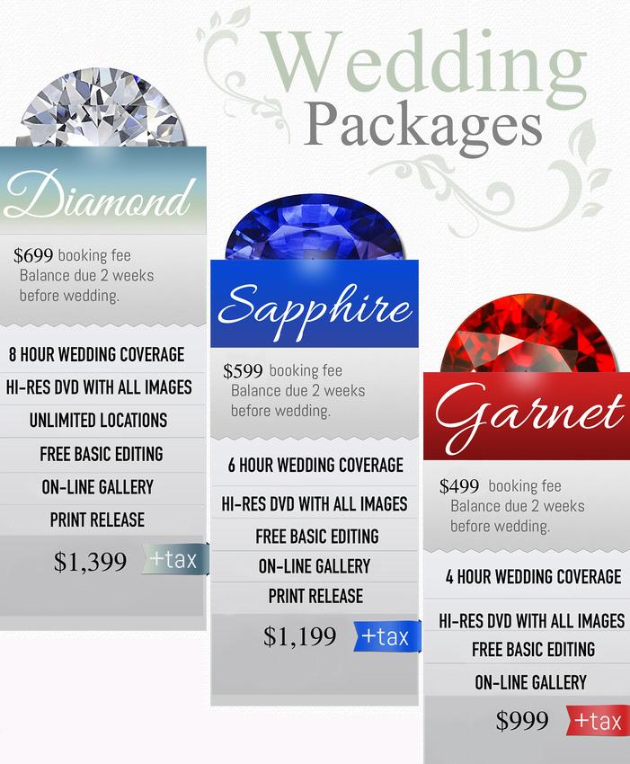 Wedding  Pricing 4-10-17